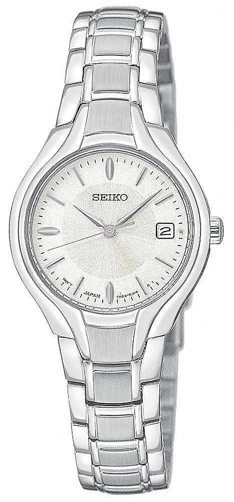 Seiko Women s SXDA33 Dress Silver-Tone Watch