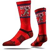 Strideline MLB PA Boston Red Sox Mookie Betts Premium Crew Socks, Red, One Size