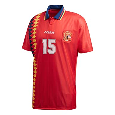 adidas Spain Camiseta Red: Amazon.es: Ropa y accesorios