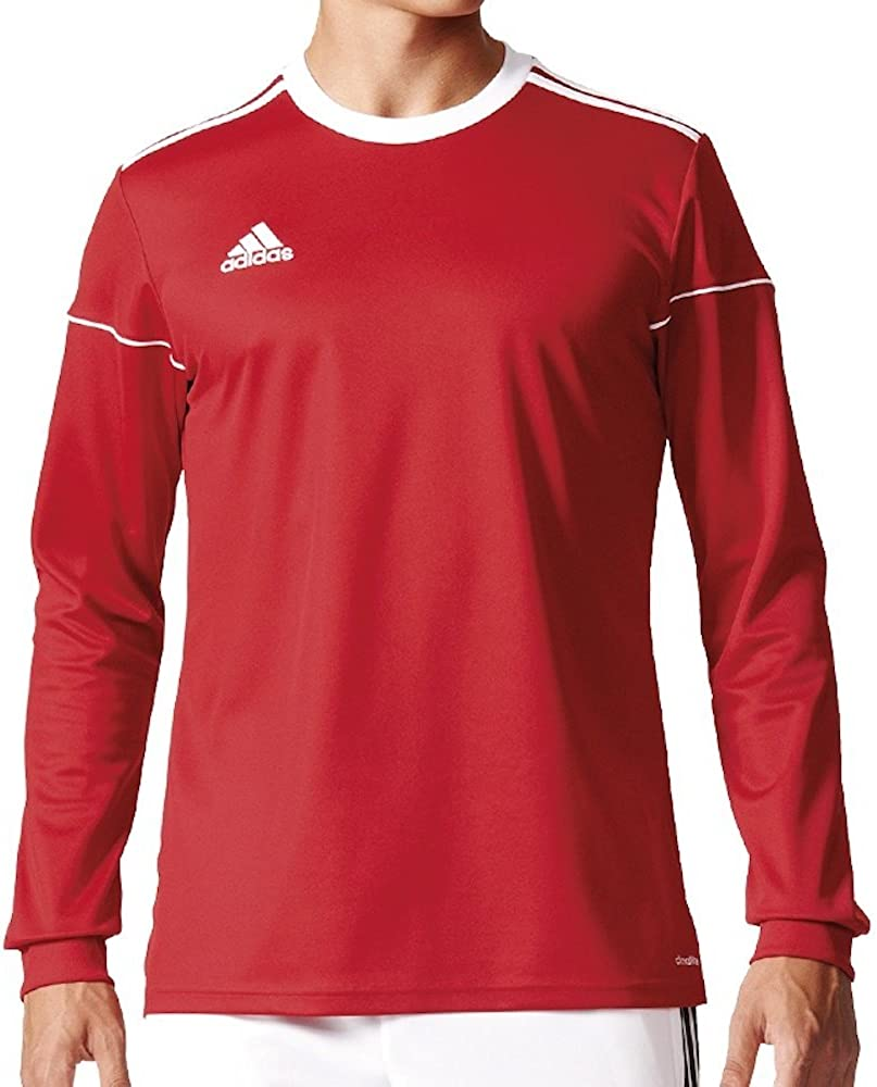 adidas Squad 17 JSY LS Camiseta de Manga Larga, Hombre: Amazon.es ...