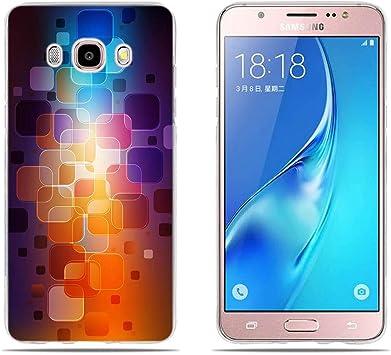 DIKAS Compatible with Funda para Samsung Galaxy J5 2016 J510F, 3D TPU Silicona Carcasas Fundas Protectora, Ultra Slim, Anti-Rasguño, Anti-Golpes para Samsung Galaxy J5 2016 J510F (5.2