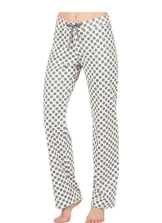 Trigema Damen Schlafanzughose mit Punkten  Amazon.de  Bekleidung 3483c9f41ad