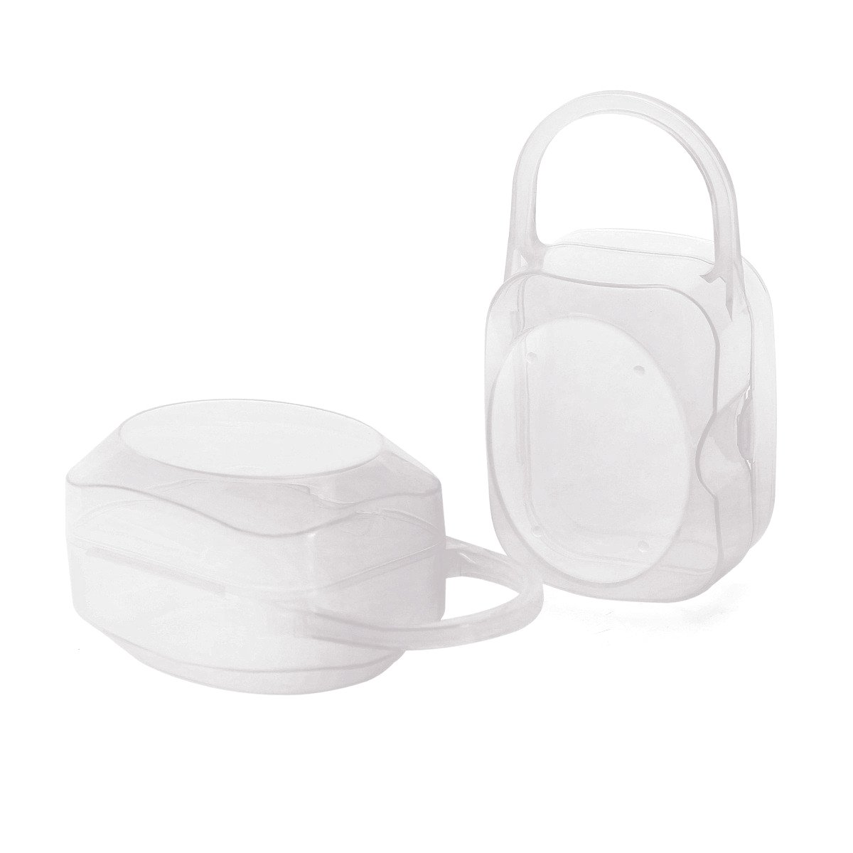 Pacifier Box Nipple Shield Case Pacifier Holder -2 PACK Laneyli