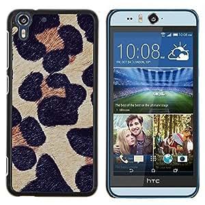 Dragon Case - FOR HTC Desire EYE M910x - leopard pattern fur animal nature - Caja protectora de pl??stico duro de la cubierta Dise?¡Ào Slim Fit