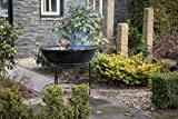Redfire 88024 Gefion Firepit with Grill, Black