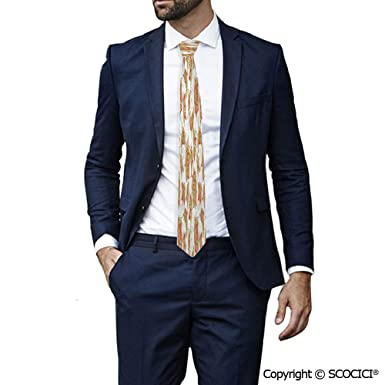 Corbata para hombre con diseño de flores romanas, ideal para bodas ...