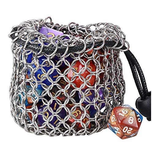 YOUSHARES Drawstring Game Dice Bag