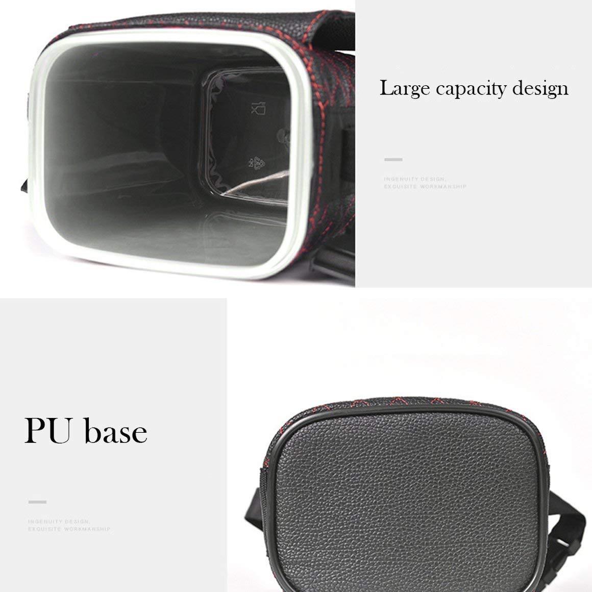 Funnyrunstore Interior del autom/óvil Bote de basura Mini Colgante Caja de almacenamiento multifunci/ón Caja de almacenamiento Port/átil del autom/óvil