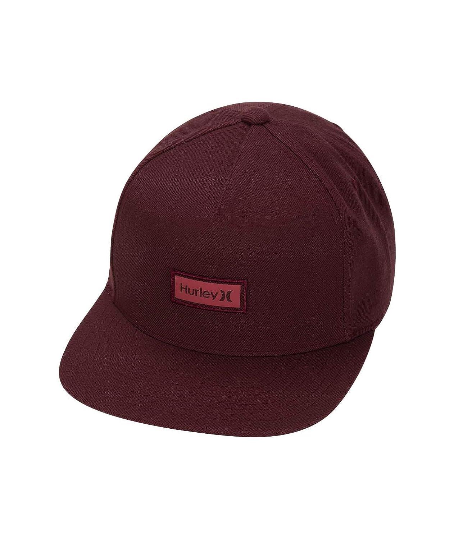 Hurley M OO Boxed Reflective Hat Hombre, Mahogany, 1SIZE: Amazon ...