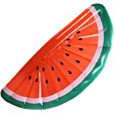 PlayMaty Inflatable Watermelon Pool Float Raft - Summer Outdoor Swimming Pool Toys for Adult and Kids