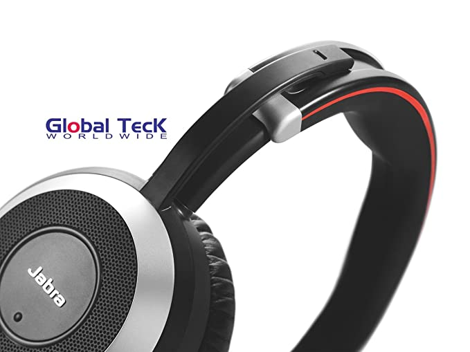 Jabra PC and Smartphone Headphones with Active Environmental Noise  Canceling, Mic | Evolve 80 | Softphones - Cisco Jabber, Webex, Skype,  Microsoft