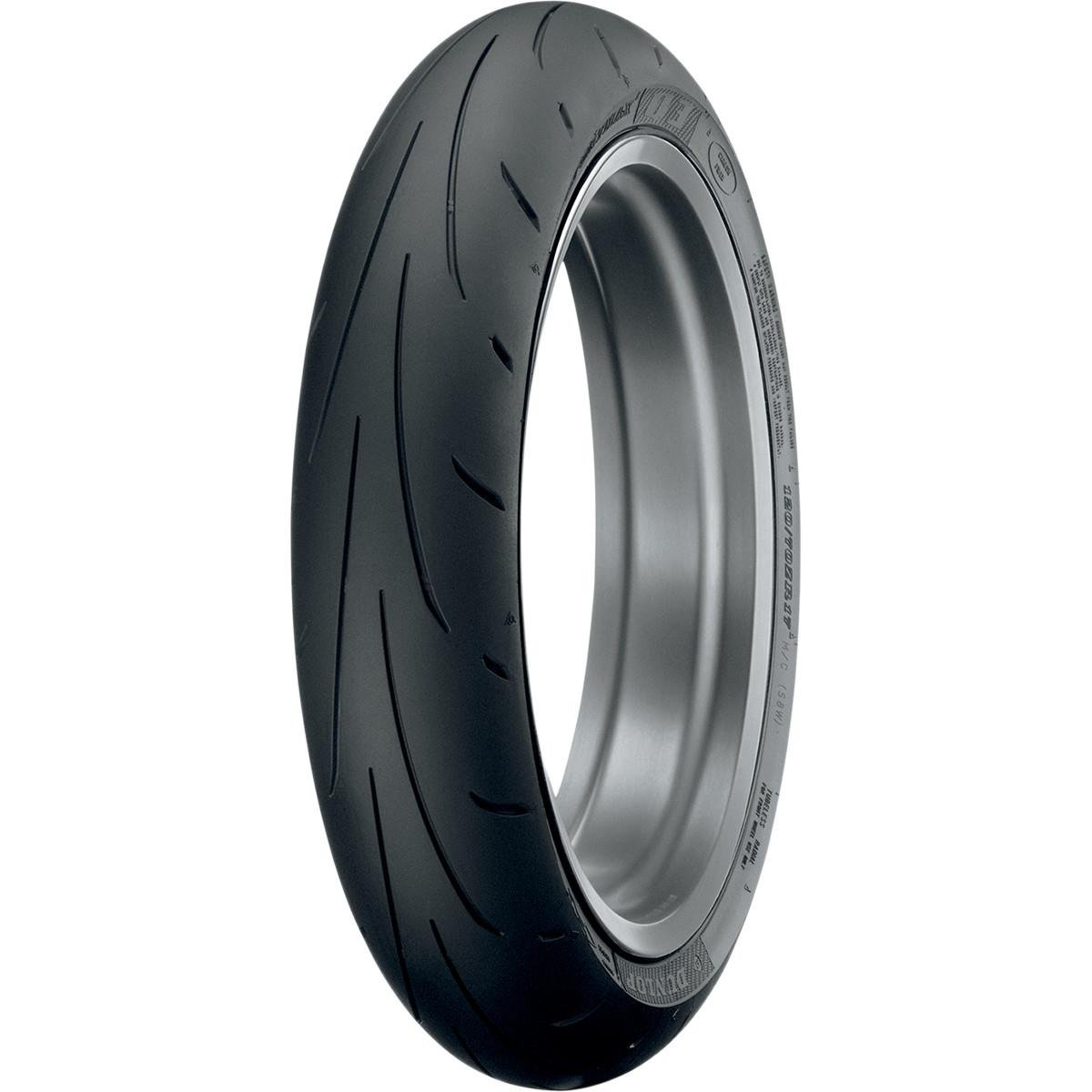Dunlop Tires Sportmax Q3 Tire - Front - 120/70ZR-17 , Position: Front, Speed Rating: W, Tire Type: Street, Tire Construction: Not Available, Tire Application: Sport, Tire Size: 120/70-17, Rim Size: 17, Load Rating: 58 by Dunlop Tires