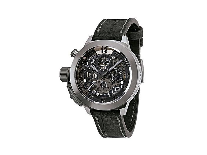 Reloj Automático U-Boat Classico, Titanio, 45mm, Cronógrafo, 8060: Amazon.es: Relojes