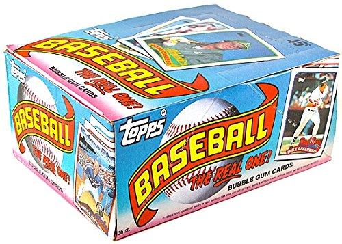 1989 Topps MLB Baseball HOBBY box (36 pk) ()