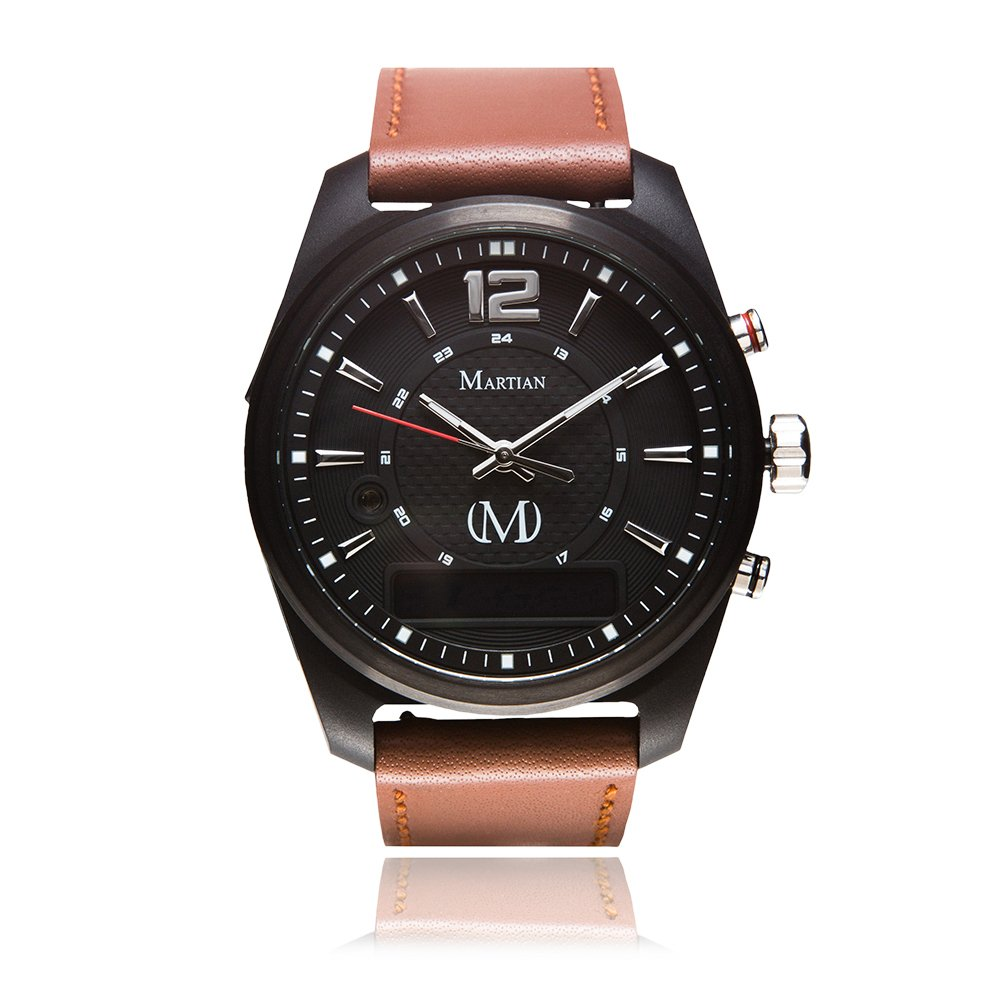 Martian mVoice Smartwatches with Amazon Alexa – Analog + Voice (B01M3PJS8D)