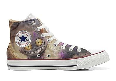 Shoes Custom Converse All Star, personalisierte Schuhe (Handwerk Produkt) Horror-Tod - size EU 37 Make Your Shoes