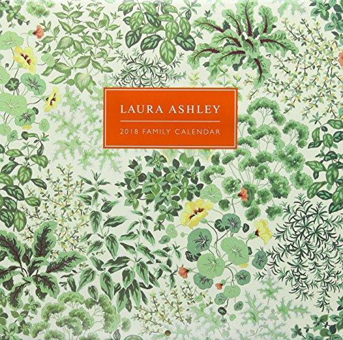 Laura Ashley 2018 SQ Family Calendar