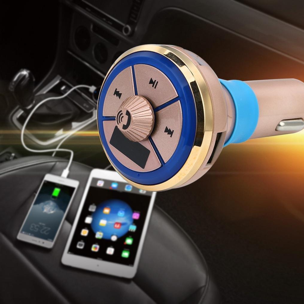 LtrottedJ Car Kit reproductor de música MP3, transmisor ...