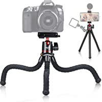 Mini Tripod,ULANZI Camera Tripod with Ball Head, 1/4'' Screw for Magic Arm, Universal Tripod for iPhone 11 Pro Max XS…