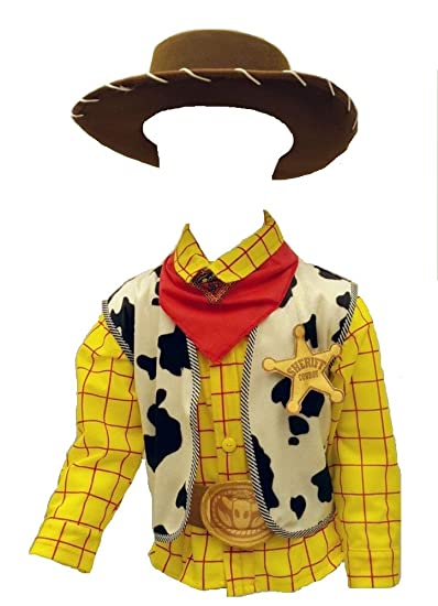 5dc437e979a4 Disfraz O Traje Caroline DE Woody Cafe Toy Story Vaquero Gala para NIÑO