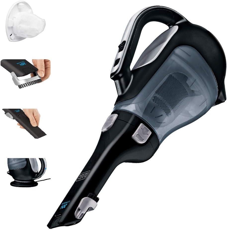 BLACK+DECKER dustbuster Handheld Vacuum, Cordless, Black (BDH2000L)