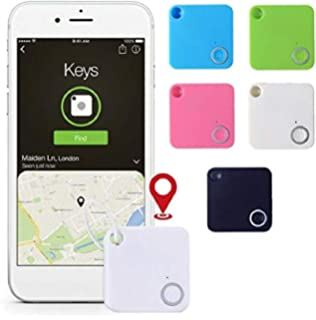 Android Smartphone ONERIOME Ultra-Thin Triangle GPS Tracker Smart Mini Bluetooth Tag Tracker Key Wallet Pet Child Finder GPS Locator Alarm Baby Wearables for iOS