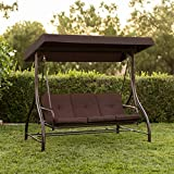 Best Choice Products 3-Seat Converting Outdoor