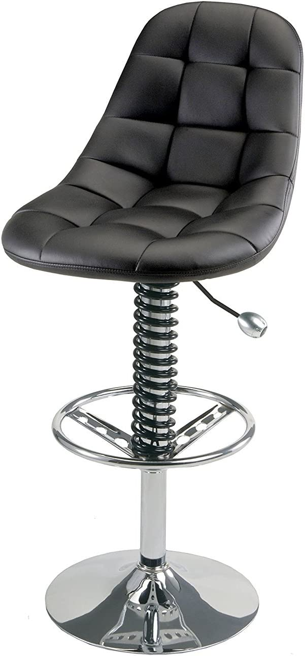 Pitstop Furniture HR1300B Black Pit Crew Bar Chair