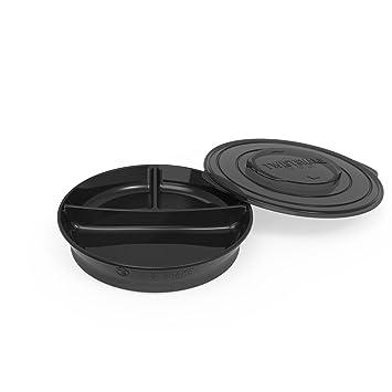 Twistshake 78178 Platos color negro