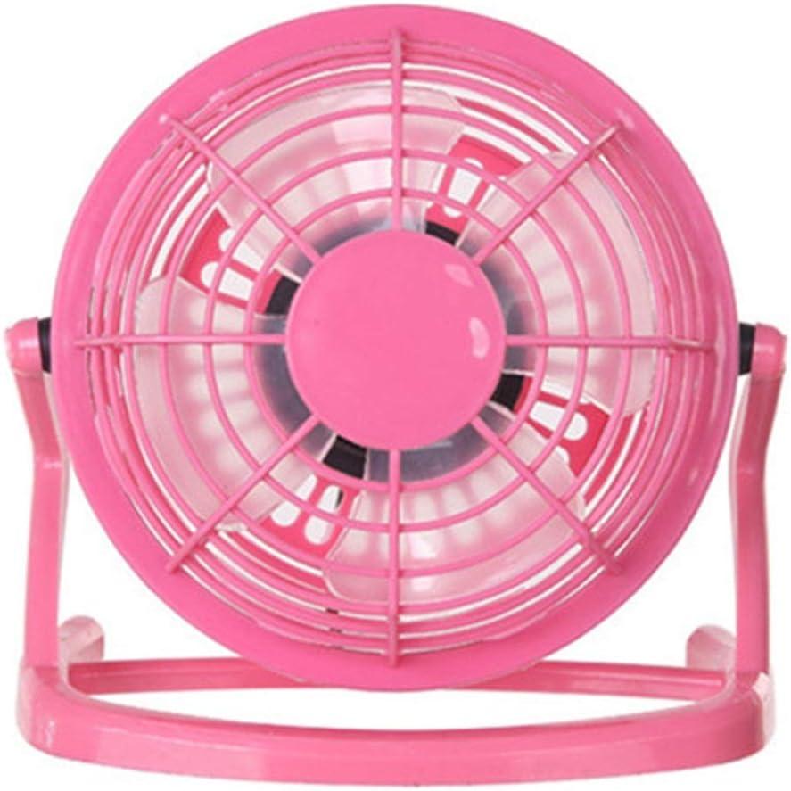 La única Chica Cool 4 Pulgadas de plástico Ventilador silencioso ...