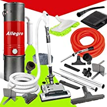 Allegro MU4500 Champion - 6,000 Square Foot Home Central Vacuum System 30 Foot Electric Hose