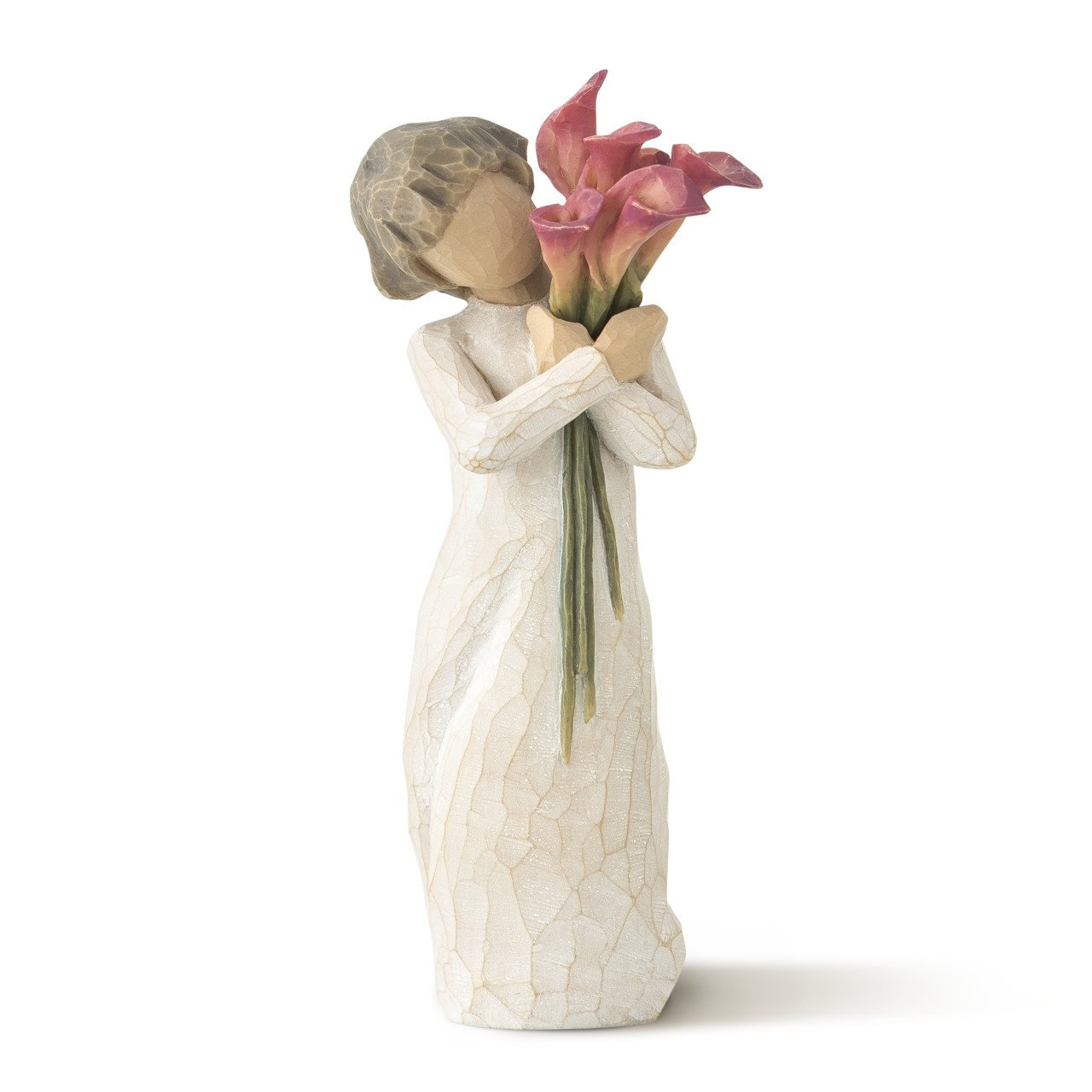 Willow Tree hand-painted sculpted figure, Bloom by Willow Tree