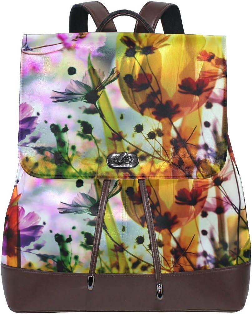 School Bag Shopping Bag Travel Bag Storage Bag For Men Women Girls Boys Personalized Pattern Flowers Backpack