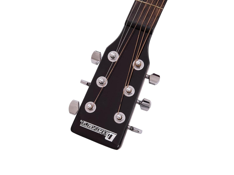 Guitarra Western BRUCE con pickup, redburst - Guitarra country / Guitarra para avanzados - klangbeisser: Amazon.es: Hogar