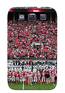New Fashion Premium Tpu Case Cover For Galaxy S3 - Ohio State Buckeyes College Football (27) Case For New Year's Day's Gift