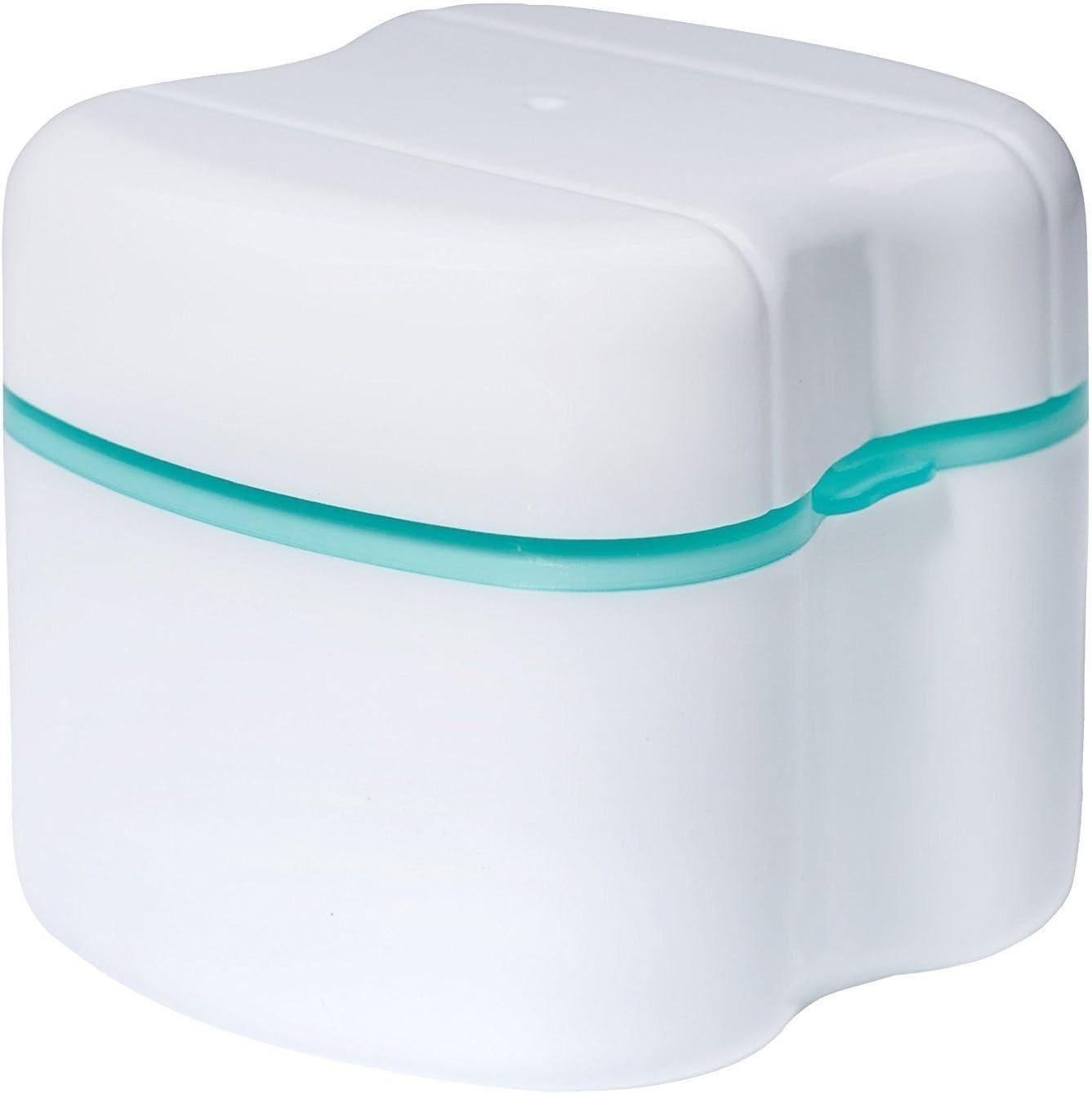 Contenedor para Caja de baño para dentadura, YouGer Caja para Almacenamiento de Dientes Falsos dentales para Uso doméstico y de Viaje: Amazon.es: Hogar