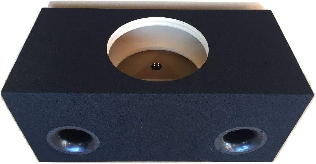 32 Hz 4 Aeroports Reinforced Custom Ported//Vented Sub Box Subwoofer Enclosure for 1 15 Subwoofer