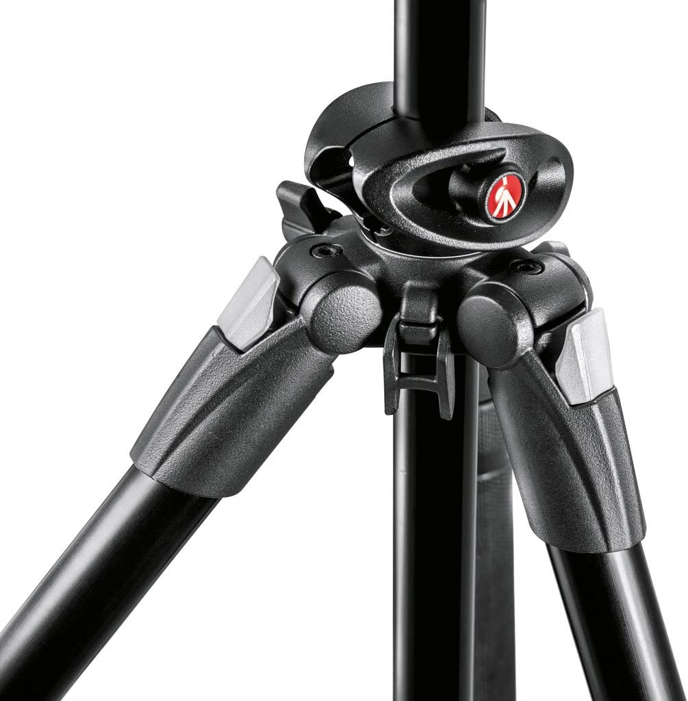 Manfrotto MK290DUA3-3W 290 Dual 3-Way Head Kit Black No US Warranty International Version