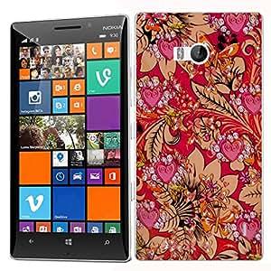 Carcasa rígida para iphone 5, diseño de estampado funda para Nokia Lumia 930–Mimosa