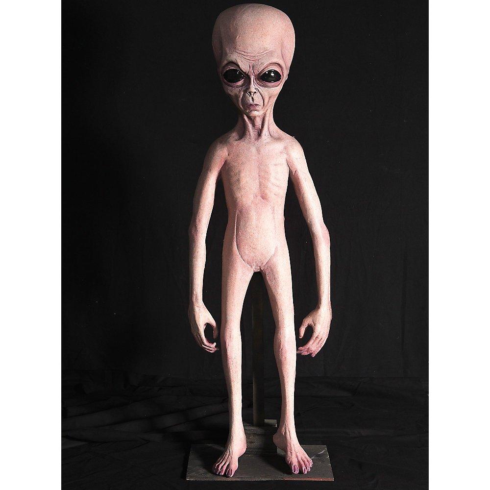 Foam Filled Alien Halloween Prop