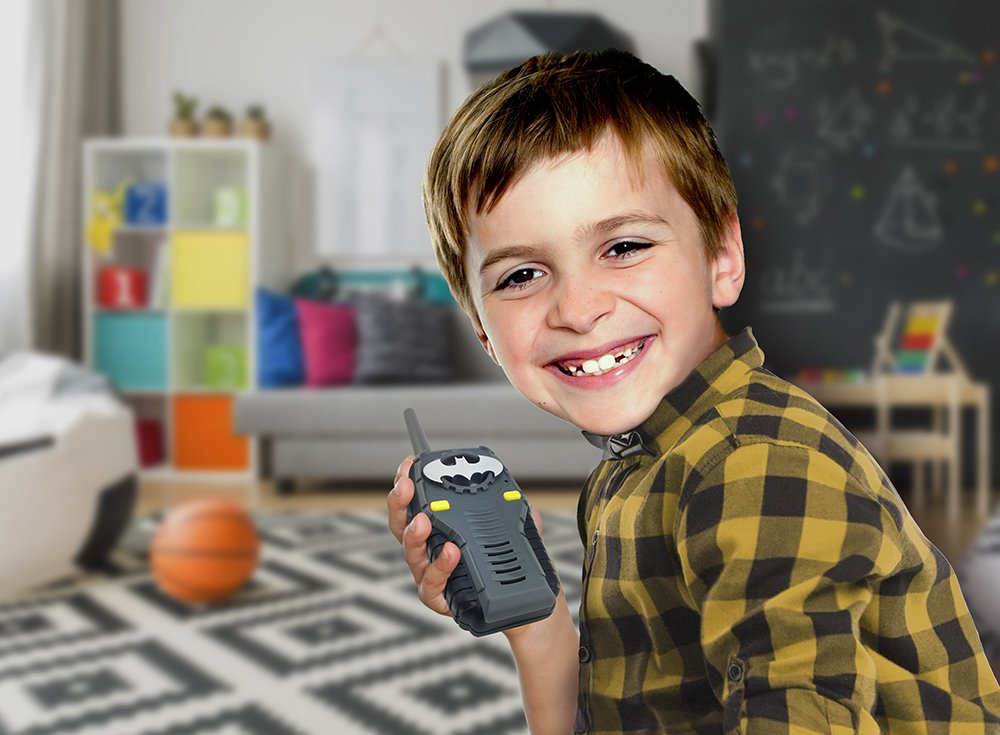 Batman FRS Walkie Talkies for Kids with Lights and Sounds Kid Friendly Easy to Use by eKids (Image #4)