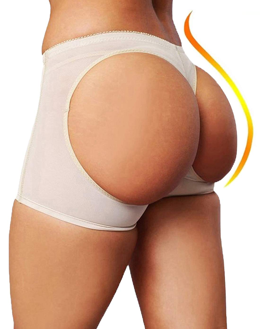 FUT Women Butt Lifter Shaperwear Tummy Control Seamless Panty Invisible Boyshort