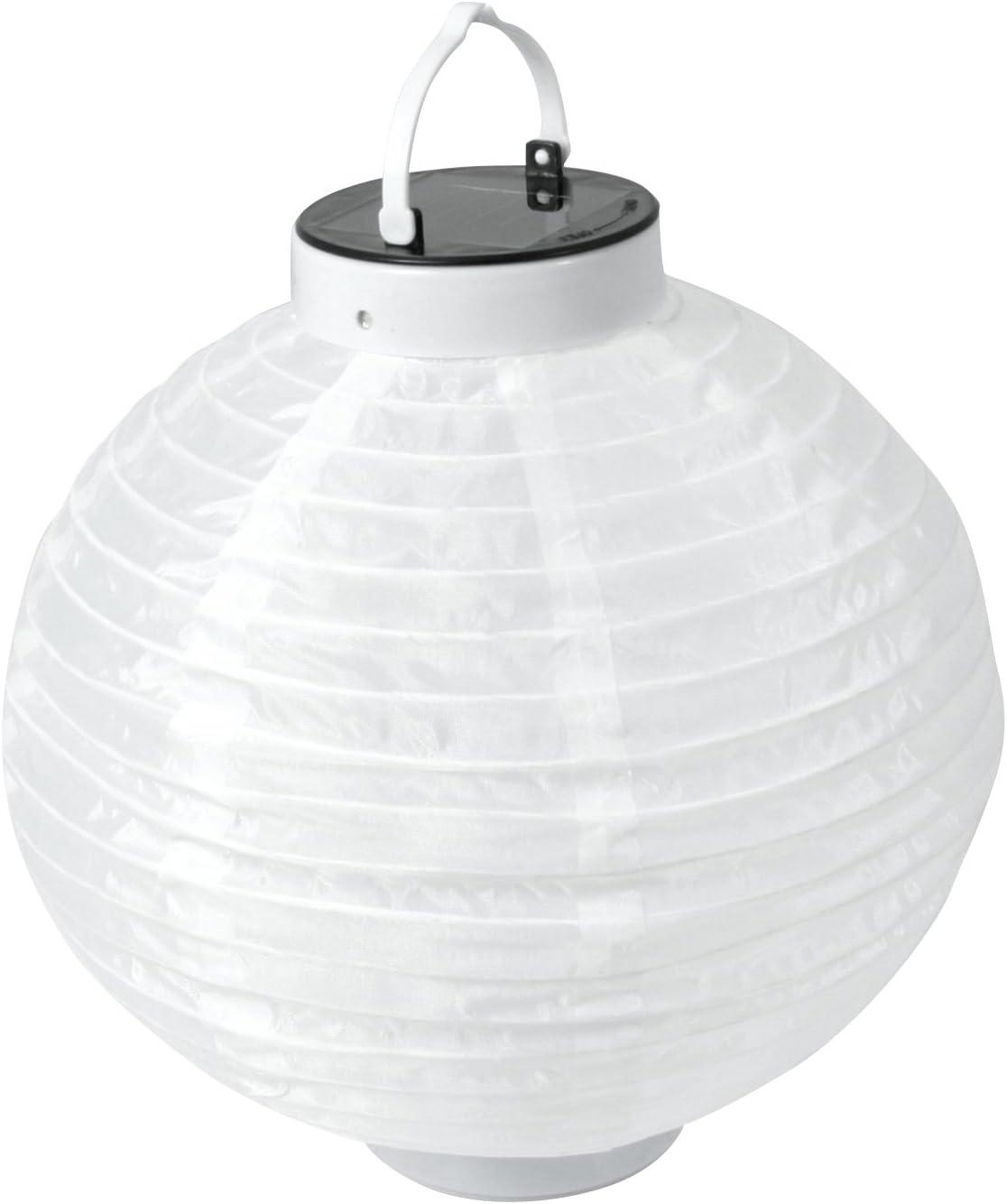 Solarline 401956 - Farol solar (24,5 cm), color blanco: Amazon.es ...