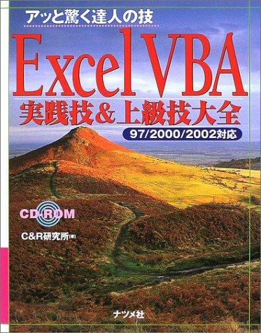 アッと驚く達人の技 Excel VBA実践技&上級技大全 97/2000/2002対応 (アッと驚く達人の技)