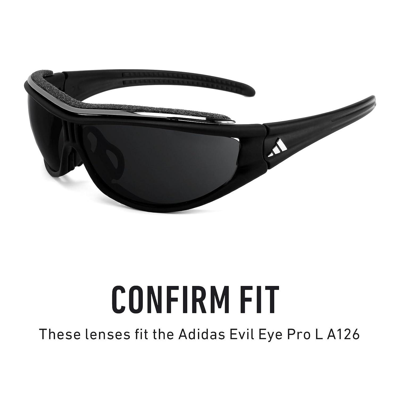 Revant Lentes reemplazo, para Adidas Evil Eye Pro L A126 (Cristal Claro): Amazon.es: Ropa y accesorios