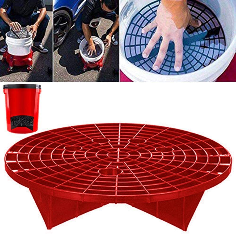 23.5cm//26cm Washboard Water Bucket Filter Car Wash Bucket Filter Volwco Car Auto Wash Grit Guard Insert Prevent Your Car From Scratches