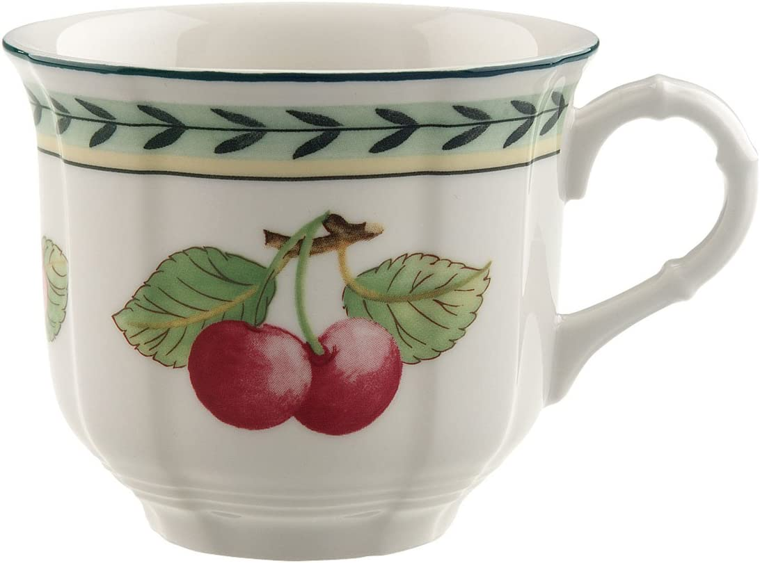 Villeroy & Boch 10-2281-1300 French Garden Fleurence Coffee Cup, Elegant Porcelain Tableware, Pack of 1