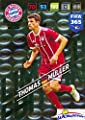 Thomas Muller FC Bayern Munchen 2018 Panini Adrenalyn XL FIFA 365 EXCLUSIVE LIMITED EDITION Card! Awesome Special Great Looking Card Imported from Europe! Shipped in Ultra Pro Top Loader! WOWZZER!