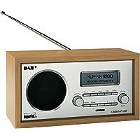Imperial 22-130-00 Dabman 30 Digitalradio (DAB+/DAB/UKW, Aux In, inkl. Netzteil) braun