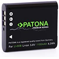 Akumulator PATONA Premium - zamiennik do Olympus LI-90B Li-92B (prawdziwy 1100 mAh) Inteligentny system akumulatorów…